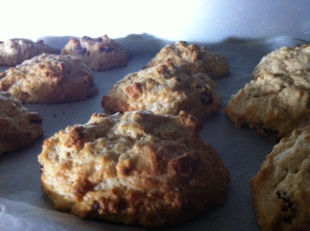 Apricot and Sultana Rock Cakes