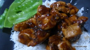 Chicken with Teriyaki Hoisin Sauce